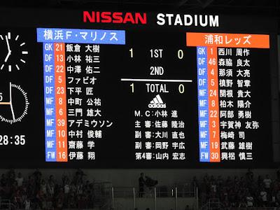 横浜F・マリノス vs 浦和レッズ1−0