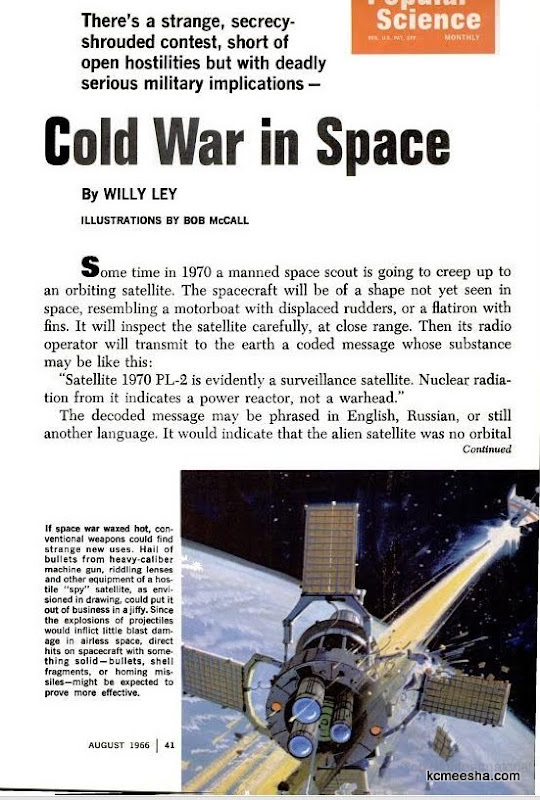 Cold War In Space