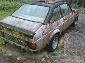 Abandoned Ford Escort Mk2
