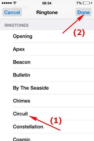 cài nhạc chuông riêng cho iphone, ipad