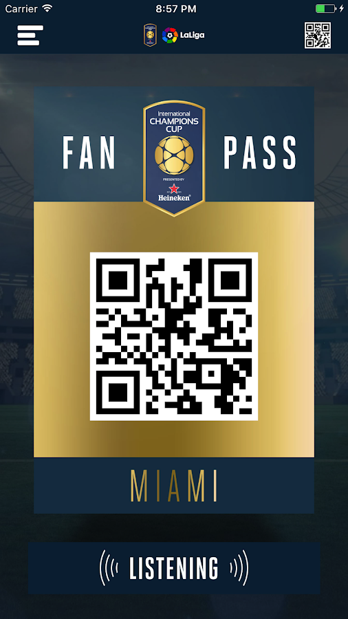ICC Fan Passport- screenshot