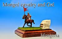 Mongol cavalry & Gel -Mongolia-