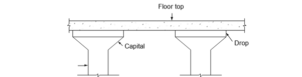 Flat slab floor