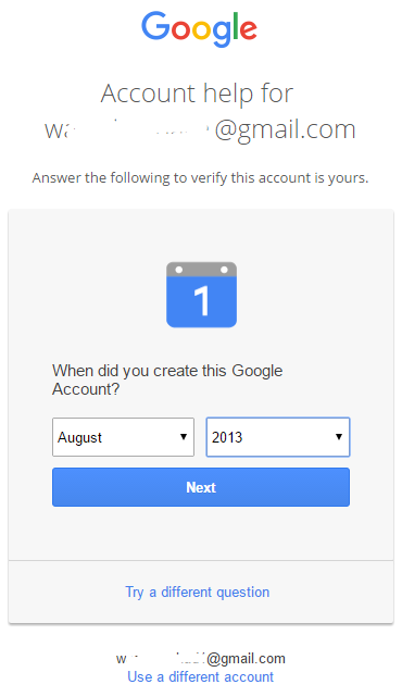 how to get my gmail account information