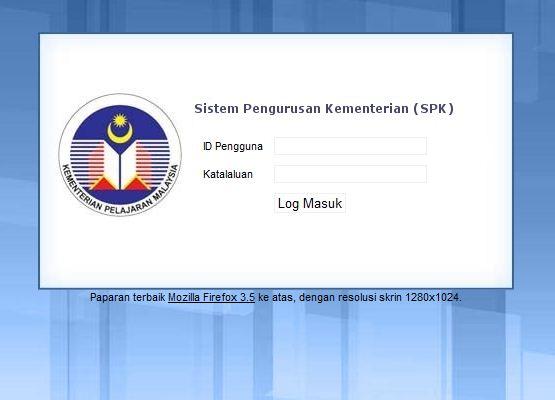 Sistem Maklumat Prasekolah Kebangsaan (SMPK)   Weblog Prasekolah ...