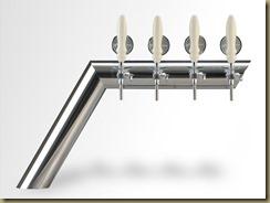 HORIZON - эксклюзивные пивные колонны в виде полуарки