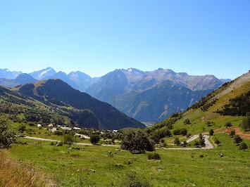 Derniers lacets avant l'Alpe d'Huez