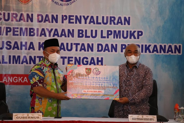 Gubernur Sugianto Mendukung Penuh Program Dana Bergulir BLU LPMUKP