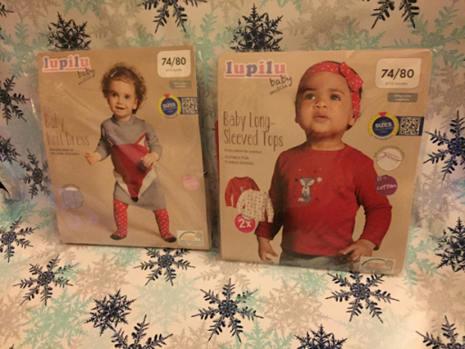 3 Girls Mummy: Lupilu's Winter Collection - Lidl Baby Clothes
