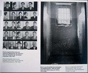 Fotografias de detenidos y una de las celdas - Berlín'10