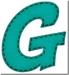 g letras verdes