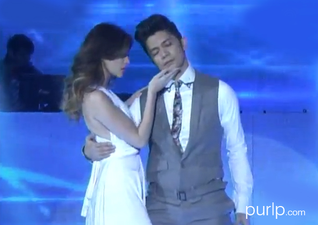Here's the video of Anne Curtis and Vhong Navarro opening number for