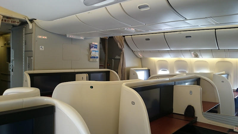 JL%252520F%252520HND LHR 62 - REVIEW - JAL : First Class - Tokyo Haneda to London (B77W)
