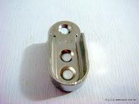 裝潢五金品名:扁管目玉規格:15MM(薄)材質:鋅合金顏色:電白色玖品五金