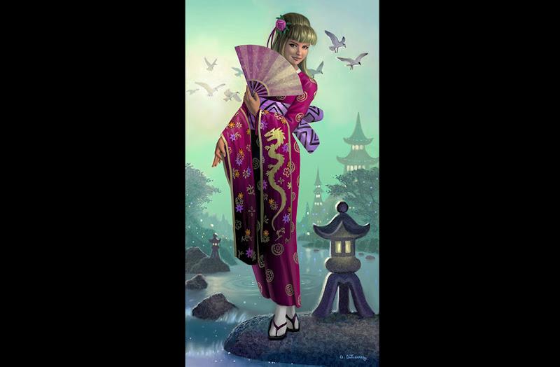 Life Of Satanic Berserk, Magic Samurai Beauties