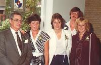 Monden, Ger, John, Margot, en Vis, Annie en Groeneweg, Marianne 1982.jpg