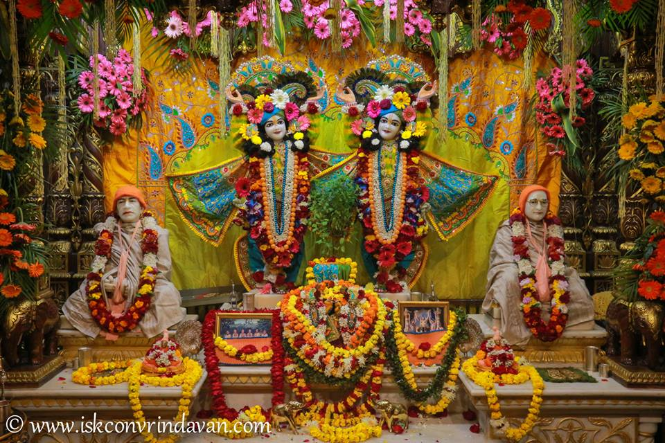 ISKCON Vrindavan Deity Darshan 03 jan 2017 (11)