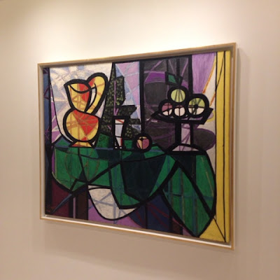 Still life by Picasso at the Guggenheim