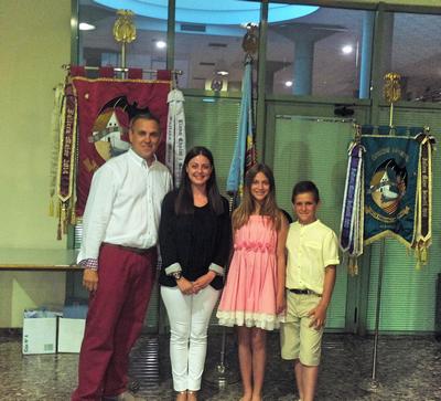 Platja Patacona Camí de Vera de Alboraia, presentán a les seues Falleres Majors