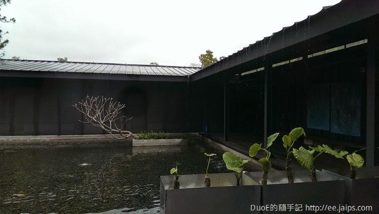 大溪老茶廠-中庭水池