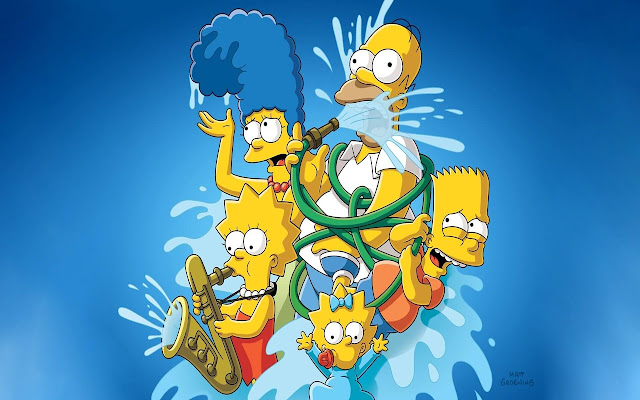 The Simpsons - New Tab in HD