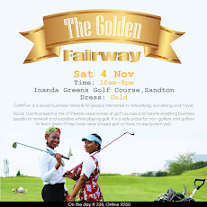 Social Event: Sandton, 4 Nov 2017 - The Golden Fairway