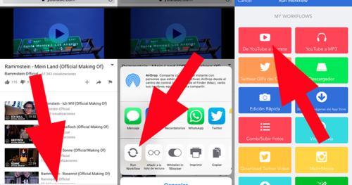 como descargar videos de youtube para un iphone