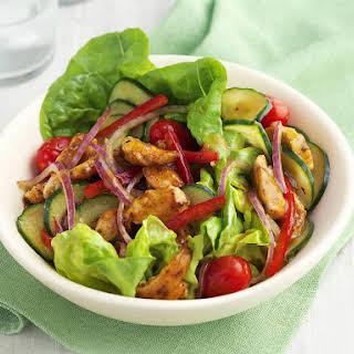 Chicken and Mango Salad.