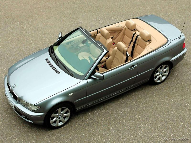 2004 Bmw 3 Series Convertible Specifications Pictures Prices