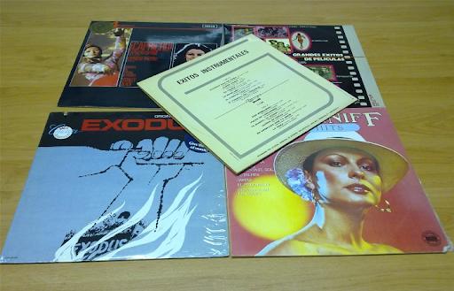 VENDO un lote de cinco LPs (Vinilos)