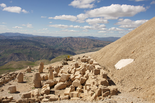 the east side of Mount Nemrut