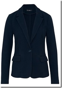 Hallhuber stretch pique blazer