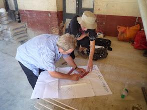 Photo: Mars 2011: Les architectes au travail