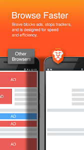 Brave Browser: Fast AdBlock screenshot 0