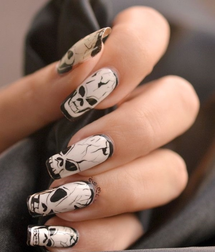 32 Pictures of Halloween Nail Color Ideas you should try - Nails C
