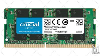 Merk Terbaik RAM : Crucial