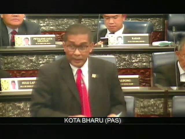 Teks Ucapan Perbahasan RUU 164 oleh Ahli Parlimen Kota Bharu