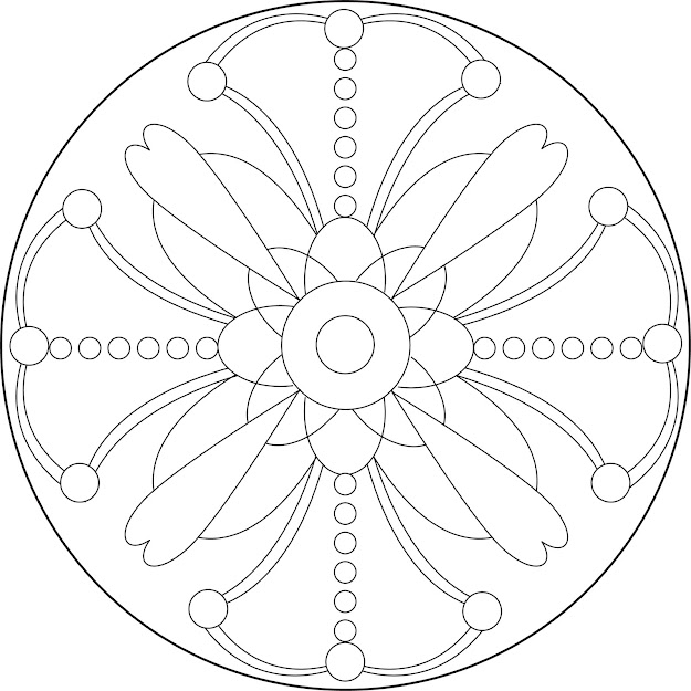 Free Mandala Design Coloring Pages With Bcccfafacceb