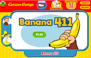 Curious George- Banana 411!