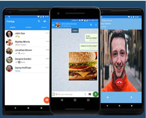 FireApp Chatting App Source Code