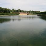 Le grand étang et le manoir du XVIe