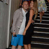 WWW.ENTSIMAGES.COM -  Deano Felstead an Danica Thrall  at       Itsie Bitsie - fashion show at The Penthouse, 1 Leicester Square, London July 17th 2013                                                  Photo Mobis Photos/OIC 0203 174 1069