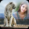 White tiger Photo Frame icon