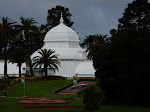 Approaching the Conservatory of Flowers