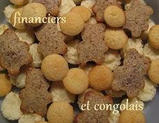 Financiers aux amandes, noisettes ou pistaches, c'est à vous de choisir !