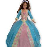 27. kép: Formatorták (lányoknak) - Barbie torta kék-rózsaszín ruhával