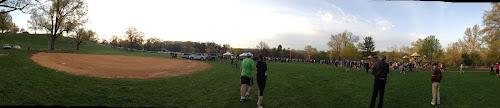 Park 2 Park Half Marathon start panorama