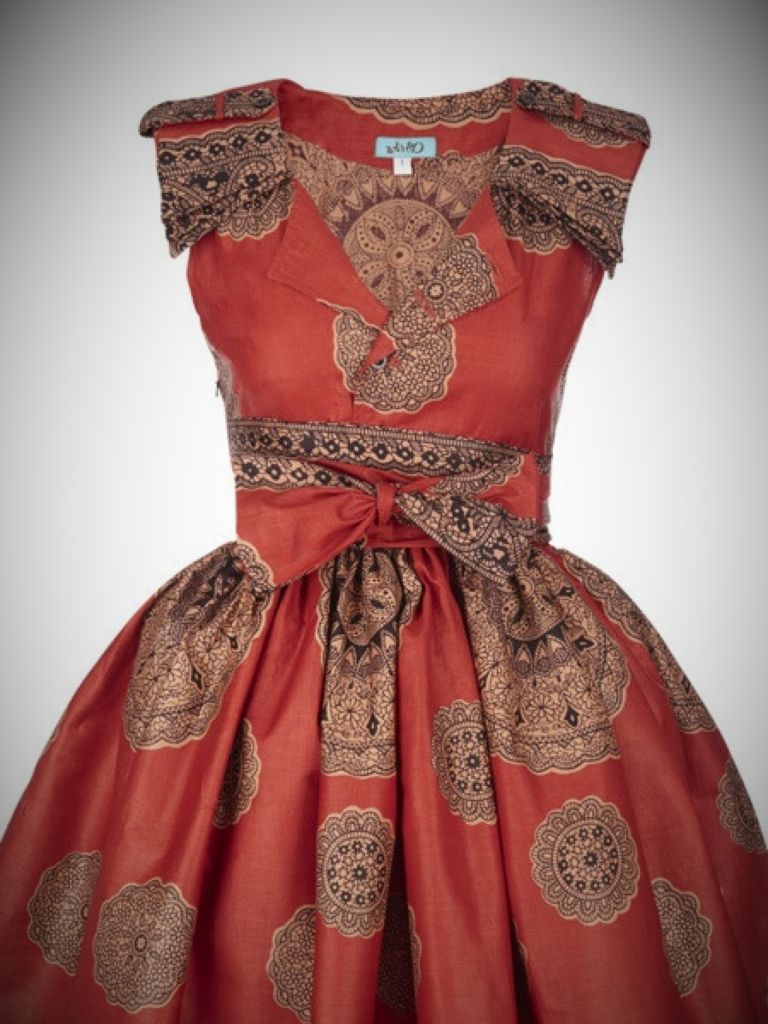 Best South African Traditional Dresses Patterns Picture