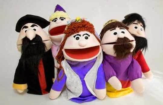 Marionetas para fiesta infantil