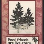 FS1132-G Good Friends are Like Stars
